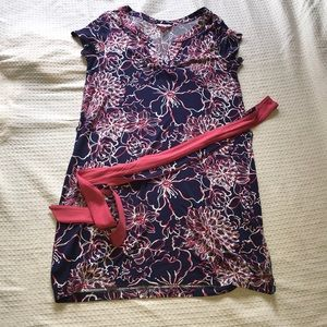 Lilly Pulitzer Dress Size Large with Belt